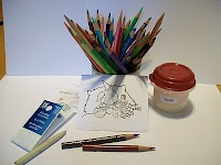 Really great tutorials for coloring with pencils. Great for beginners like me.