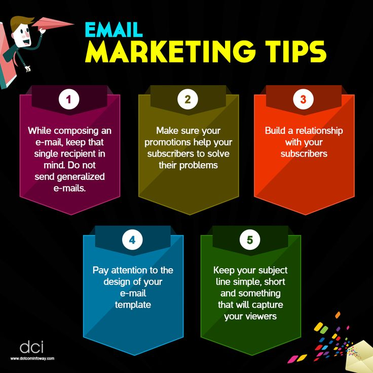 Five Email Marketing Tips to maximize your email marketing efforts!