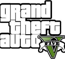 Grand Theft Auto 5 Stickers by NosingGaming