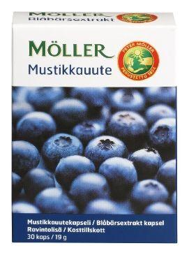 ✔ Möller Mustikka 30 kpl 19 g - Terveystuotteet - Tokmanni