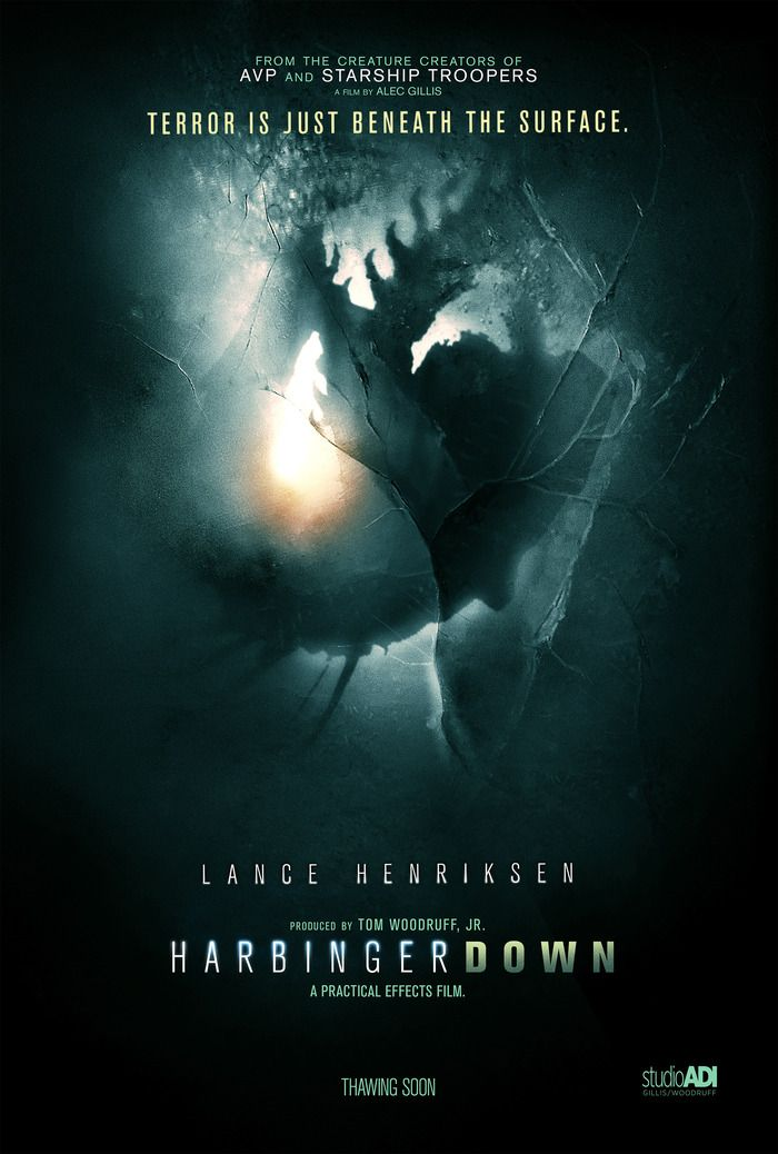HARBINGER DOWN : A Practical Creature FX Film by Alec Gillis/ADI — Kickstarter Alec Gillis wants to return to the use of practical effects in movies to create a more realistic simulation of an alien horror movie and get away from the digitalized effects that are consuming modern special effects in film