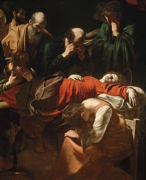 Michelangelo Caravaggio - The Death of the Virgin