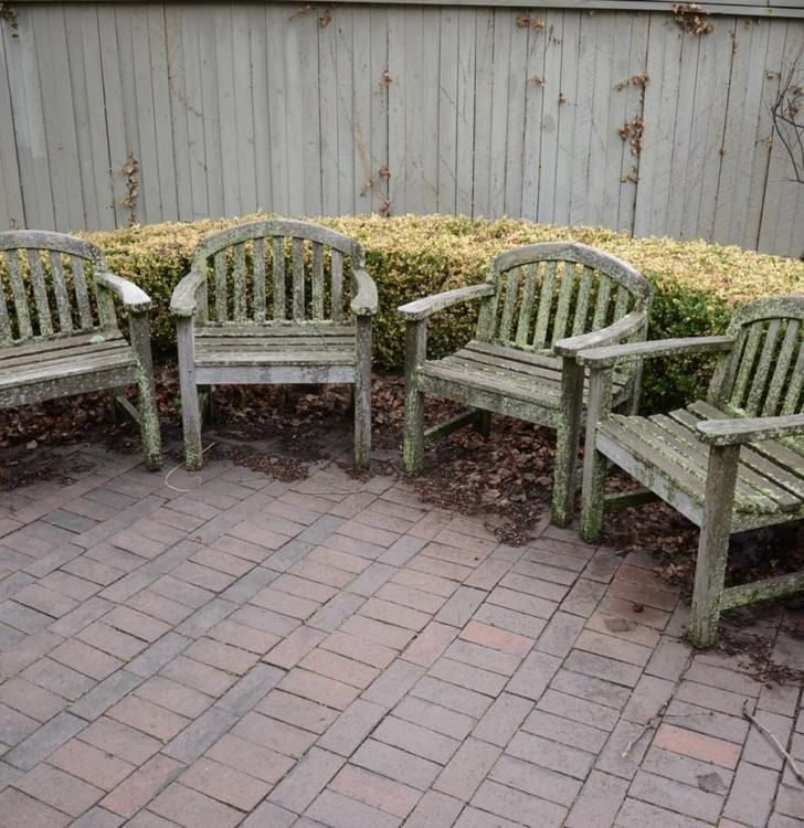 Cushions For Smith And Hawken Patio Furniture Patio Patio Furniture Teak Outdoor Furniture