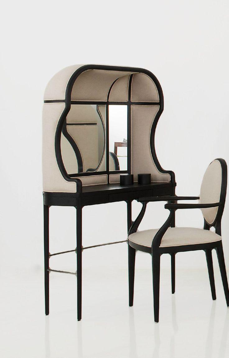 Laval vanity desk, Stellar Works