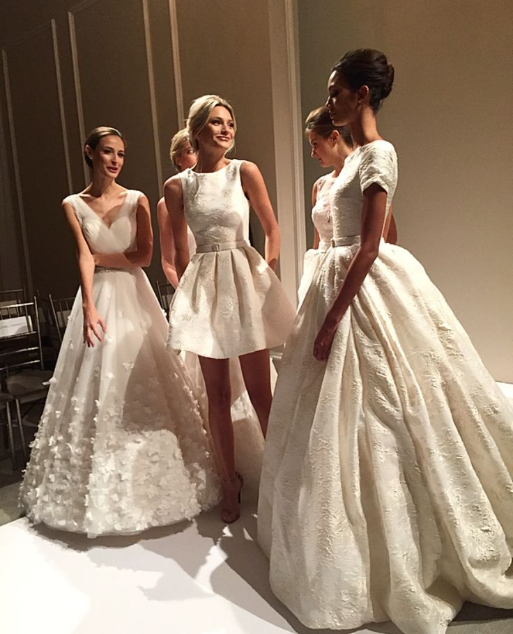 14 best modern bride images on pinterest wedding frocks for Last season wedding dresses