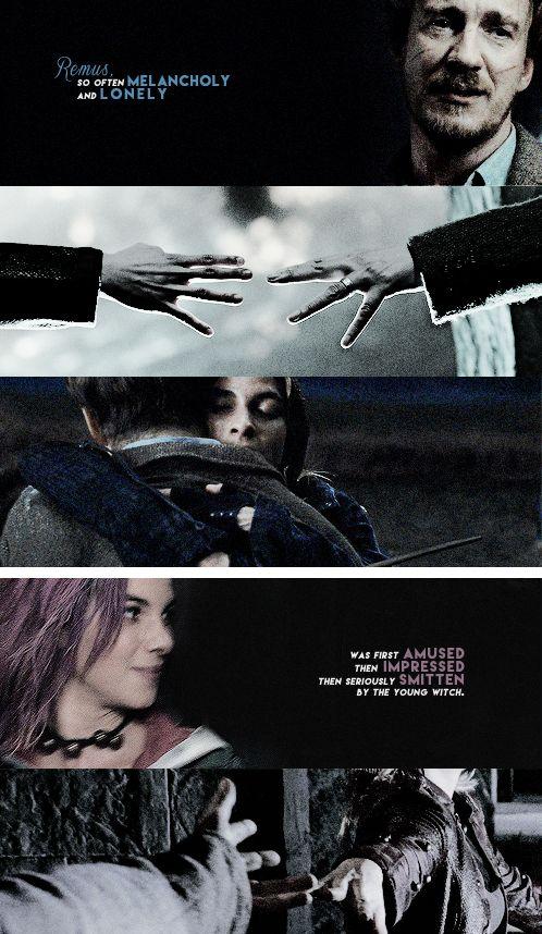 Remus and Tonks..... It was just SOO wrong for JK to kill them... SOO WRONG ON SOOOOOOO MANYYYY LEVELSSS!!!!!