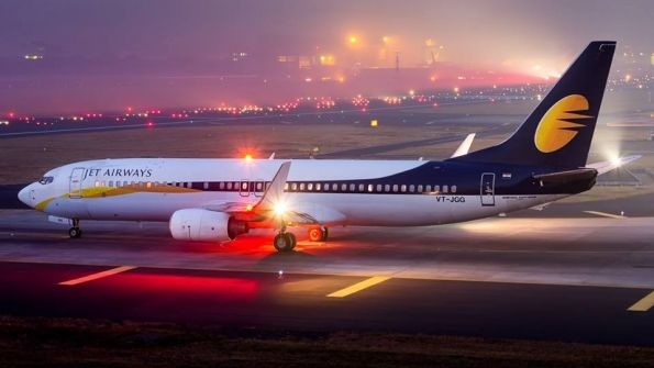 Night Flight - Jet Airways B737