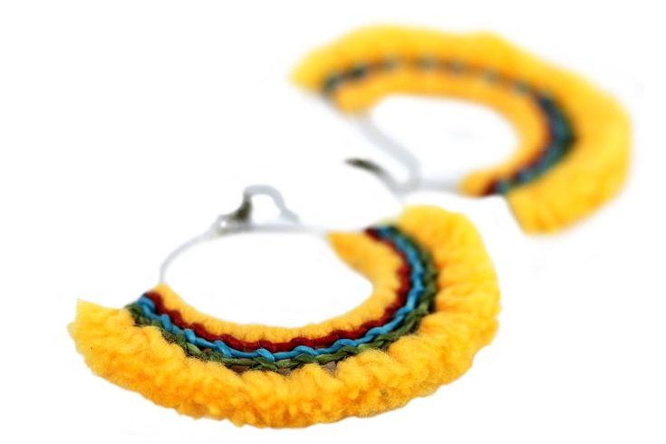 17 meilleures id es propos de bijoux am rindiens sur - Fabriquer ses boucles d oreilles ...