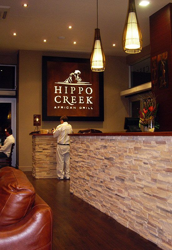 Hippo Creek African Grill Bar Restaurant Fit Out Perth Hospitality