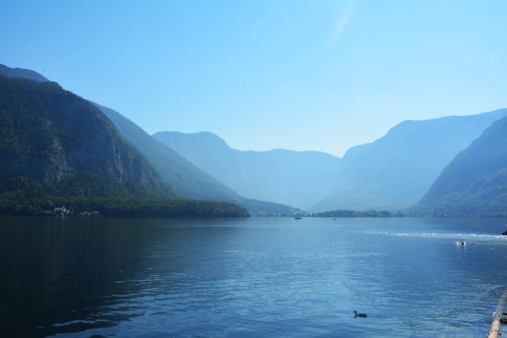 Lake next to Hallstatt. Author-Tereza Večerková