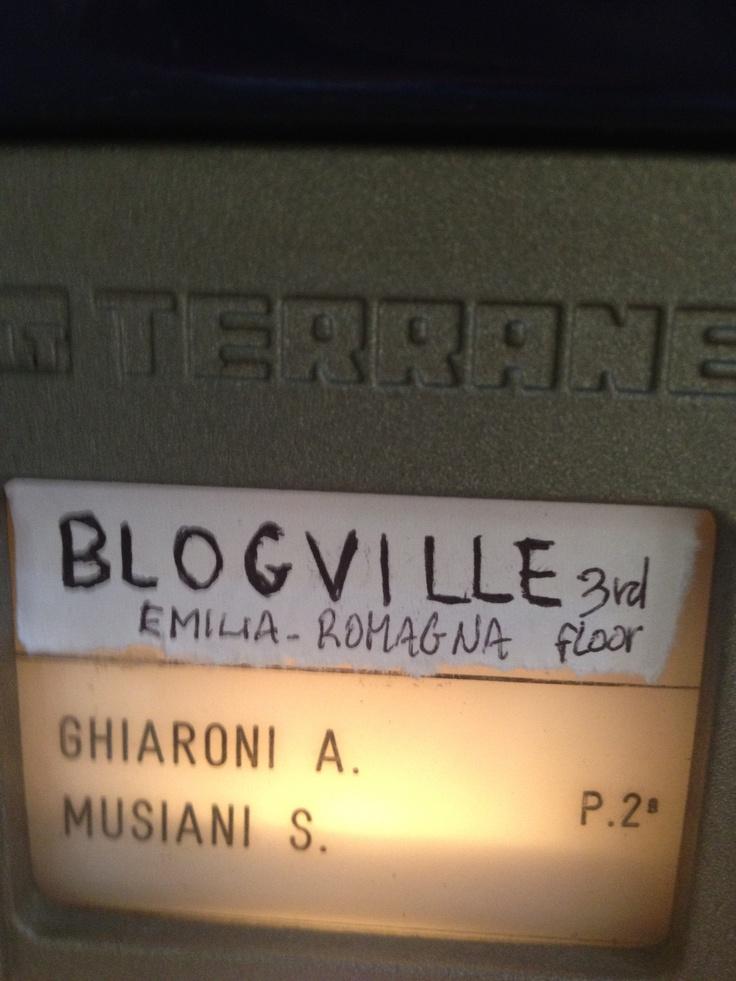 blogville entrance