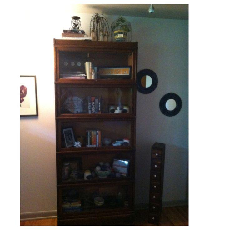 bookcase that was my grandma's, love and cherish it
