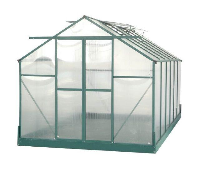 Habrita Serre Jardin Structure Aluminium Polycarbonate 6 Mm Surface 10 37 M2 Sr4224j Home Decor Decor Surface