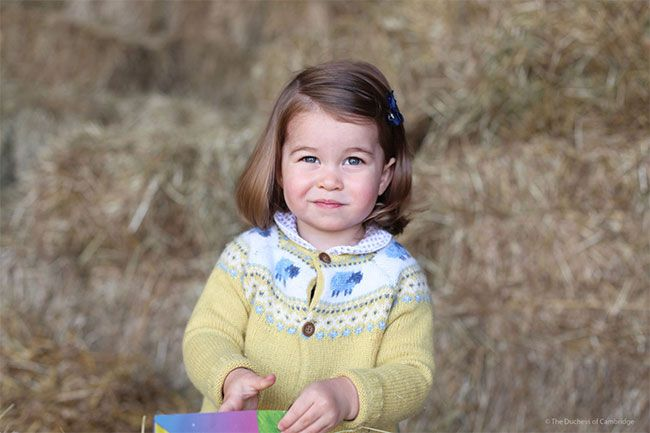 """Princess Charlotte is set to celebrate her second birthday on Tuesday, and to mark the special occasion Kensington Palace have released a new picture of the youngest member of the royal family. """"The Duke and Duchess are delighted to share a new photograph of Princess Charlotte to mark her second birthday tomorrow,"""" the palace announced. """"TRH would like to thank everyone for the lovely messages they have received & hope that everyone enjoys this photograph as much as they do."""""""