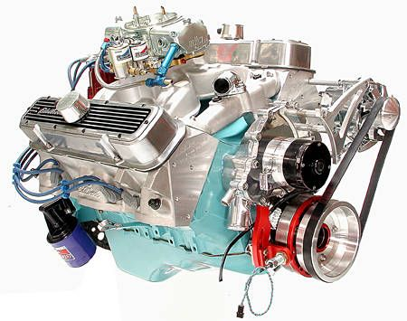 A REAL Pontiac Engine. 400 Cubic inches please.
