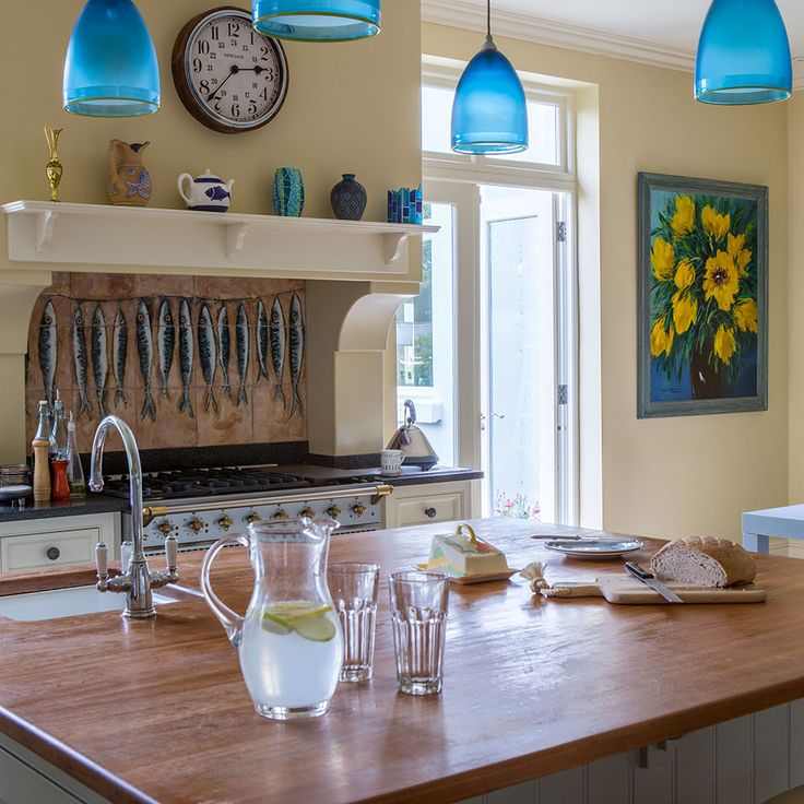 Kitchen Island Light With Fan: 1000+ Ideas About Blue Pendant Light On Pinterest