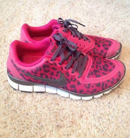 Dames Nike Free 5.0 Leopard Rood - Roze - Zwart,HOT SALE!