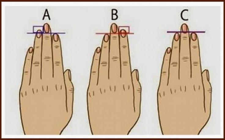 Κι όμως τα δάκτυλα αποκαλύπτουν την προσωπικότητά σας (τεστ)