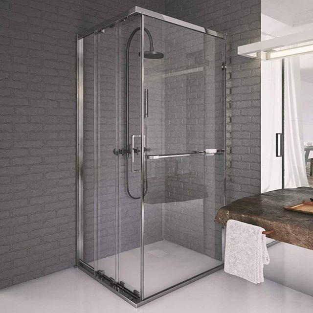 Prostota i ciekawe dodatki!  #KOŁO #łazienka #inspiracja #łazienki #wystrój #wystrojwnetrz #design #kabinaprysznicowa #prysznic #bathroom #shower #inspiration #interiors #interior #instadesign