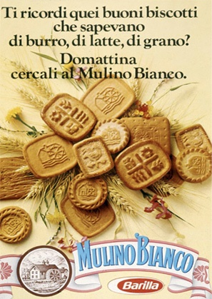 Mulino Bianco Barilla  - Vintage advertising