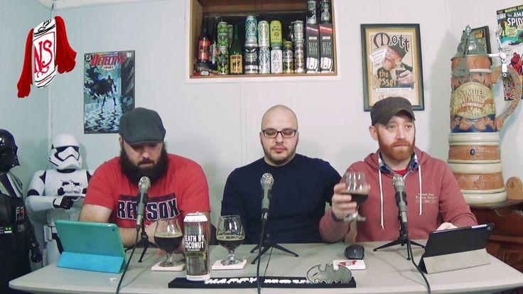 Nerdsense Drinks Reviews - #110 Oskar Blues Rum Barrel Aged Death by Coconut #beer #craftbeer #party #beerporn #instabeer #beerstagram #beergeek #beergasm #drinklocal #beertography