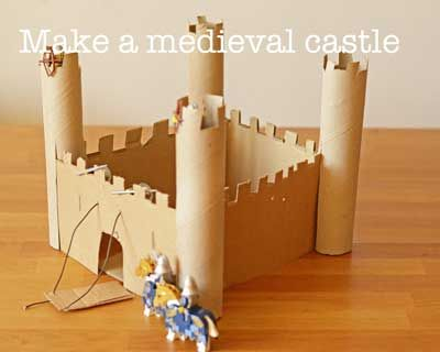 how to make a model castle for kids