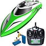 Win! Force1 RC Boat Pool Toys – Velocity Wave High Speed Remote Control Boat wit…