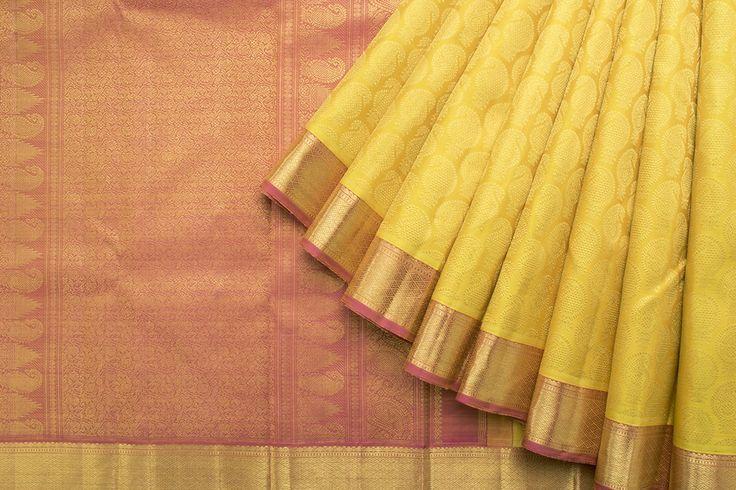 Kanakavalli Handwoven Kanjivaram Silk Sari 1016779 - Saris / All Saris - Parisera