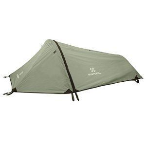 The Winterial 1 Man Personal Bivy Tent is Lightweight at only 2 Pounds 9 Ounces.Perfect for Those Long Hikes.