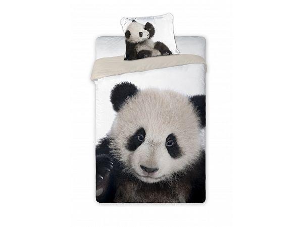 Przecudna Panda na pościeli, którą pokocha każda dziewczynka i każdy chłopiec. Wysokiej jakości nadruk, 100% bawełna.