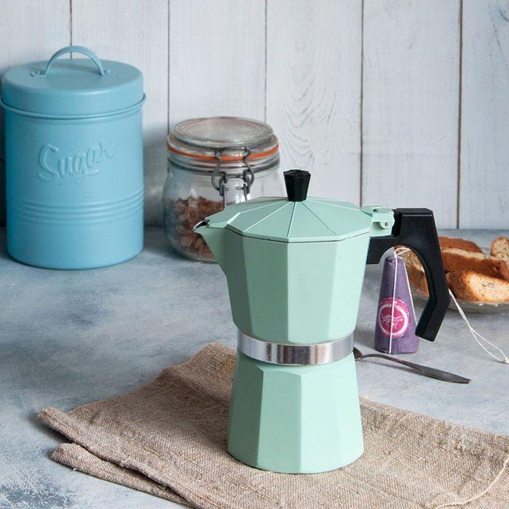 L'italie à la maison Le bon goût du café bien fait Jusqu'à 6 tasses Convient pour gaz et plaques électriques