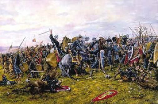 The Battle of Hastings (1066 AD)