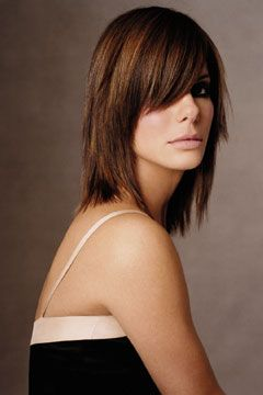 Best 25 sandra bullock hair ideas on pinterest sandra bullock sandra bullocks medium hair style is one of most chic and stylish hairstyles for been wanting to cut my hair short again urmus Image collections