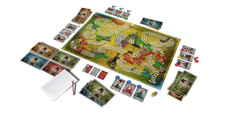 Pélotone - cycling board game for champions of all ages