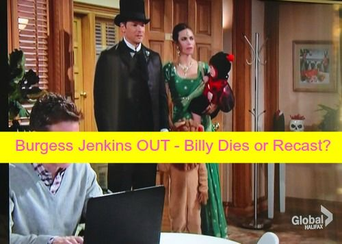 The Young and the Restless Spoilers: Burgess Jenkins OUT at Y&R - Billy Killed Off in Halloween Fire or Recast? | Celeb Dirty Laundry
