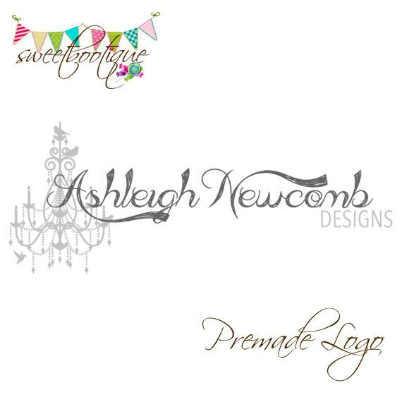 FULLY CUSTOMISABLE  Premade Logo  Ashleigh by SweetBootique