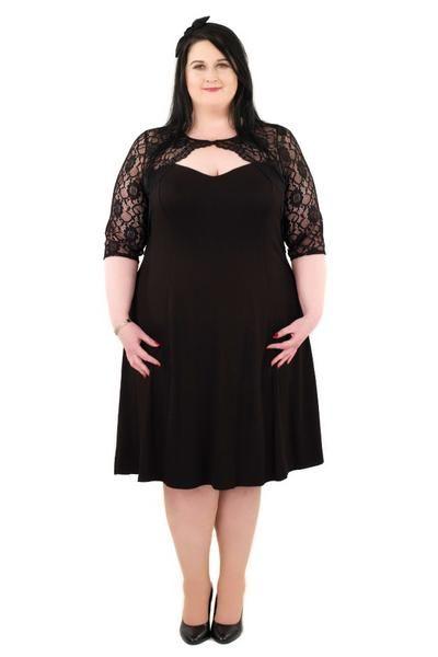 Lace Sleeve Bolero Dress - scarlettandjo  - 1