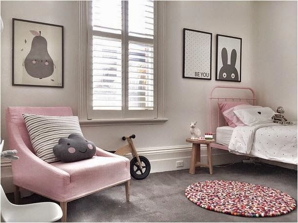 Cute Pink And Gray Room The Boo And The Boy Kids Rooms