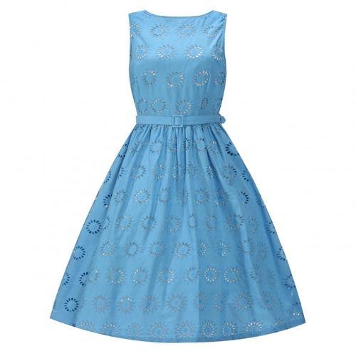 Blondelle blå