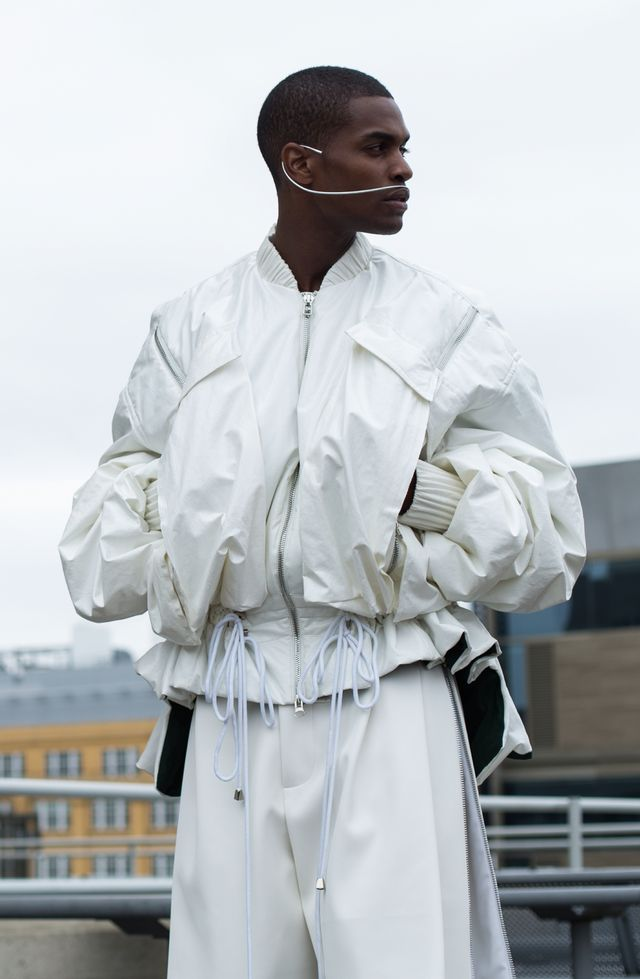 Visions of the Future / VFILES / Men / Fashion / Lookbook / White / Volumes / Editorial