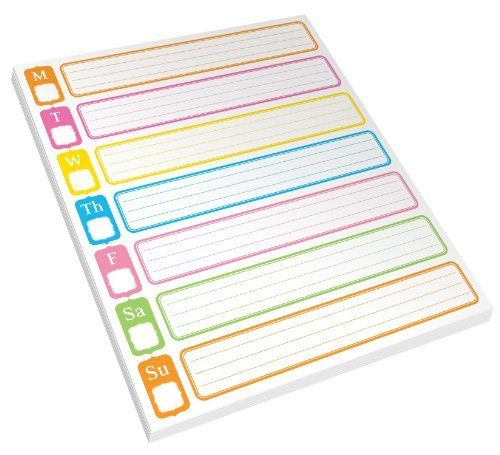 Weekly Calendar Sticky Notes : Best filofaxes planners images on pinterest