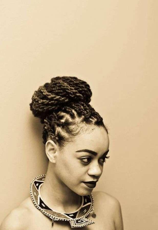 Senegalese Twist Bun Hairstyles Senegalese twists are simple