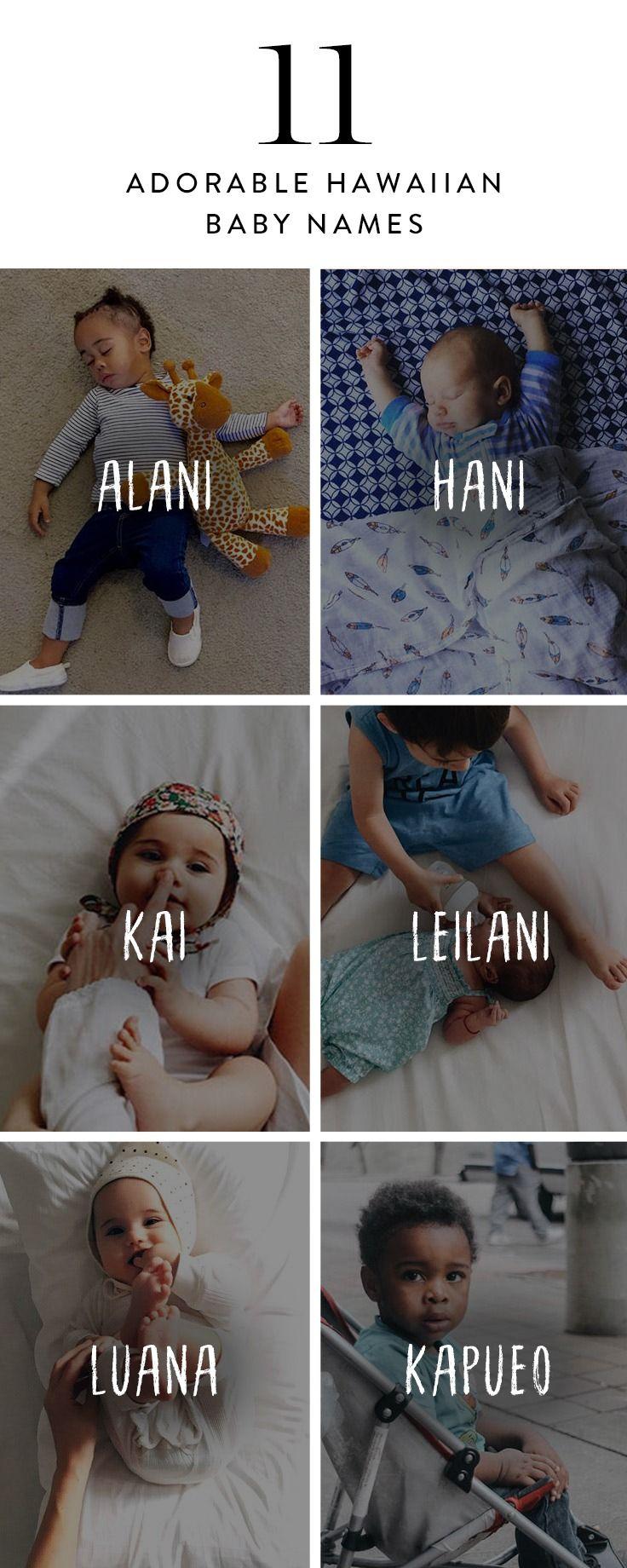 Here are 11 adorable Hawaiian baby names.