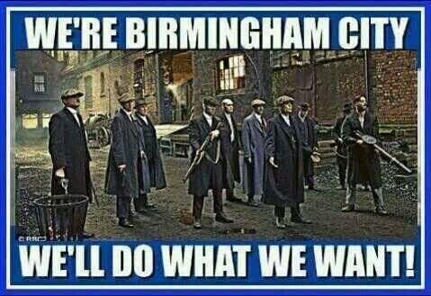We're Birmingham City - We'll Do What We Want!