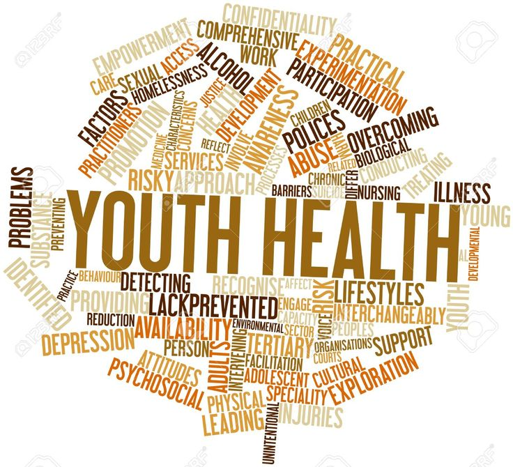 Abstract Word Cloud For Youth Health With Related Tags And Terms Stock Photo, Picture And Royalty Free Image. Image 16633120.