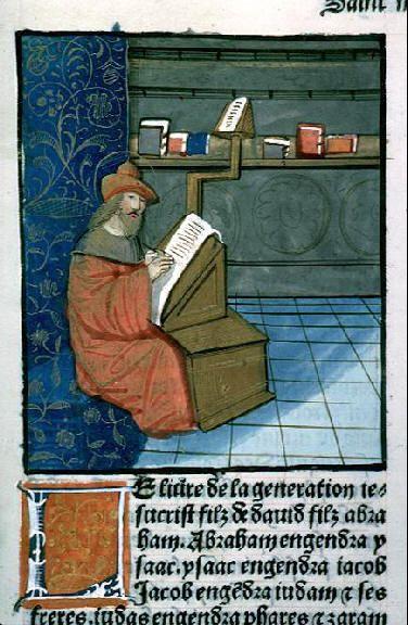 Saint Matthieu #bibliothèque