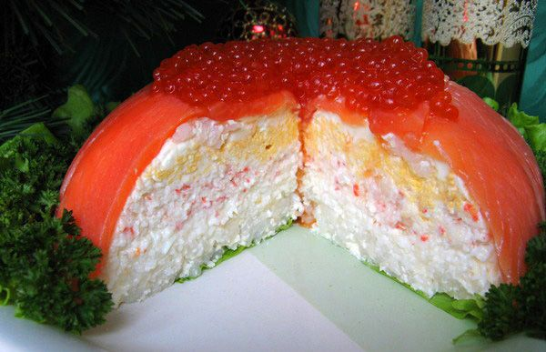 "Fish snack cake ""Fishing Luck"". Discussion on LiveInternet - Russian Service Online Diaries"
