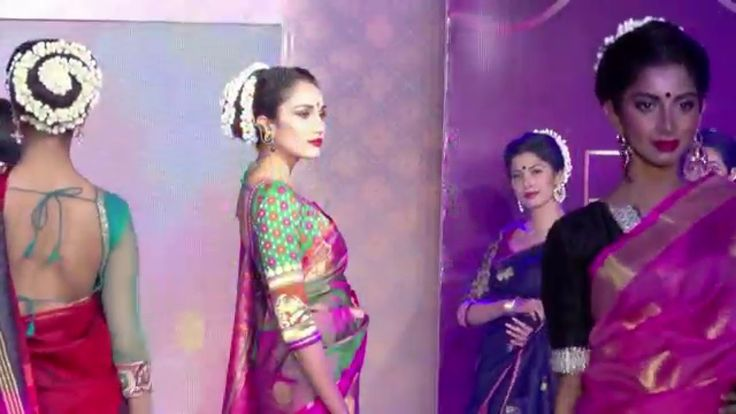 chennai Hot Models in Saree - A Must Watch Fashion Show