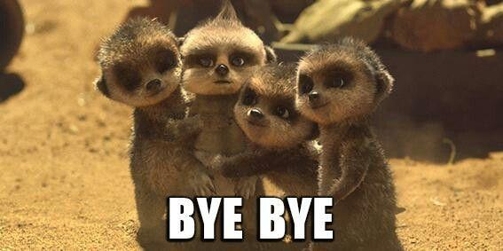 Bye bye Baby Oleg