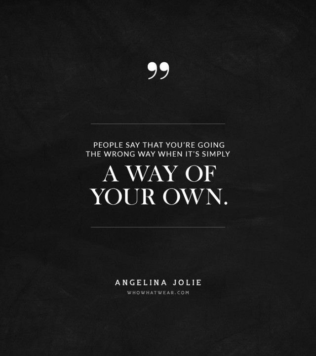 @Who What Wear - Say What? Angelina Jolie's Most Mind-Blowing Quotes